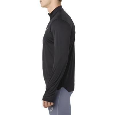 Asics Silver Long Sleeve 1/2 Zip Top - SS19