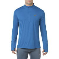 Asics Silver Long Sleeve 1/2 Zip Top - AW18