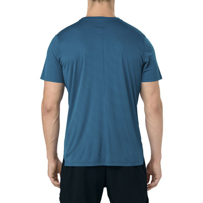 Asics Silver Short Sleeve Top
