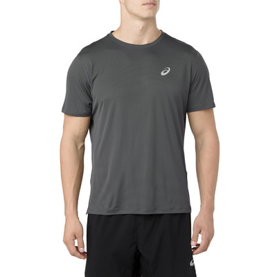 Asics Silver Short Sleeve Top