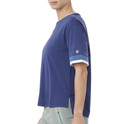 Asics Mix Fabric Women's Short Sleeved Top