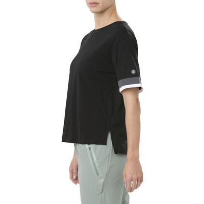 Asics Mix Fabric Women's Short Sleeved Top