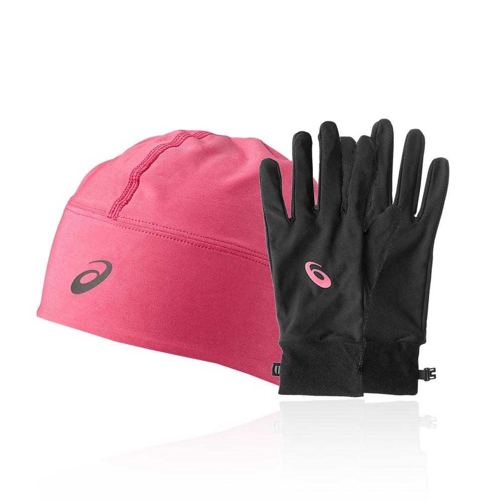 Asics Performance Pack - Winter Beanie Plus Gloves