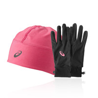 Asics Performance Pack - Winter Beanie Plus Gloves