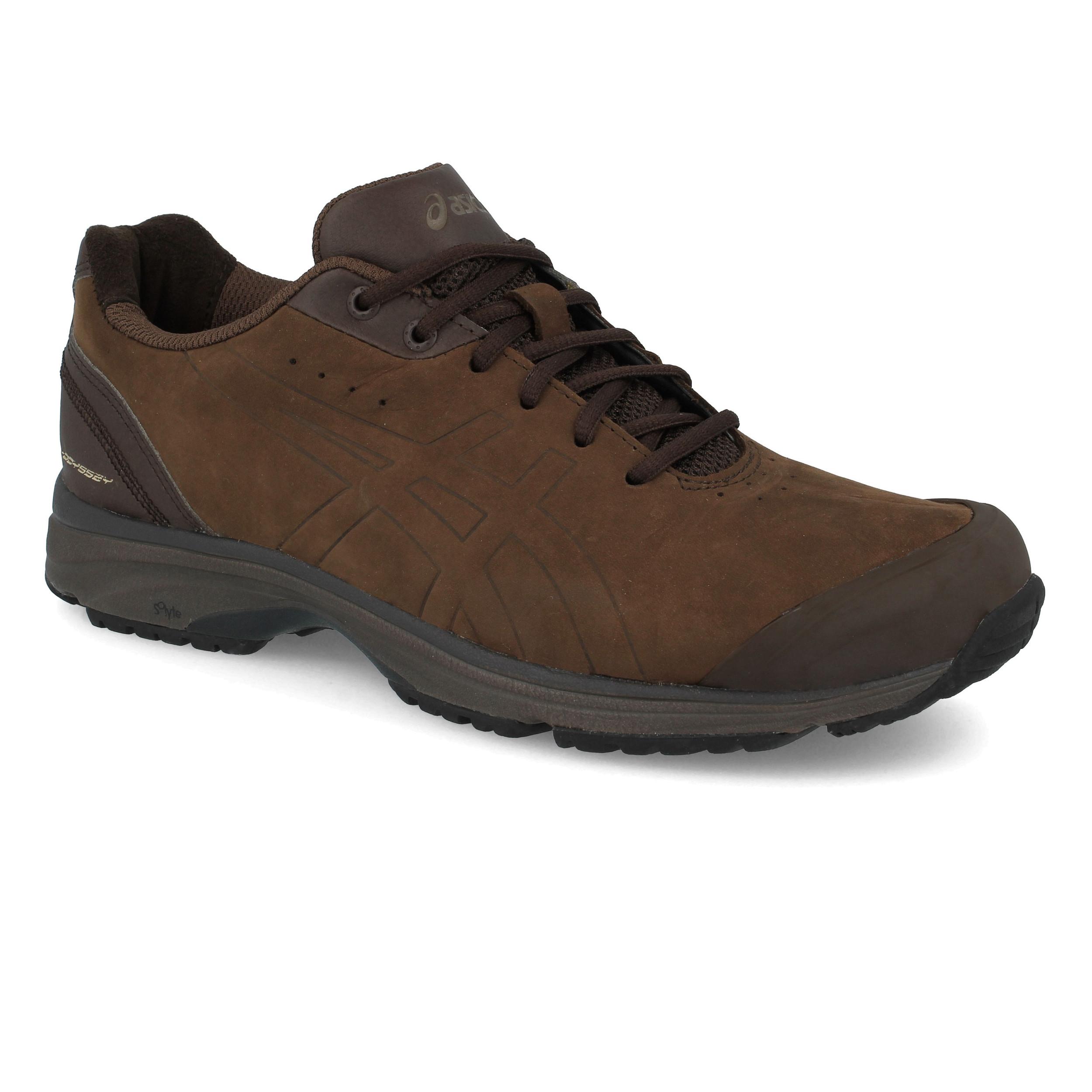 72d37385dbe Asics Mujer Gel-odyssey Wr Caminar Zapatos Marrón Deporte Resistente al Agua