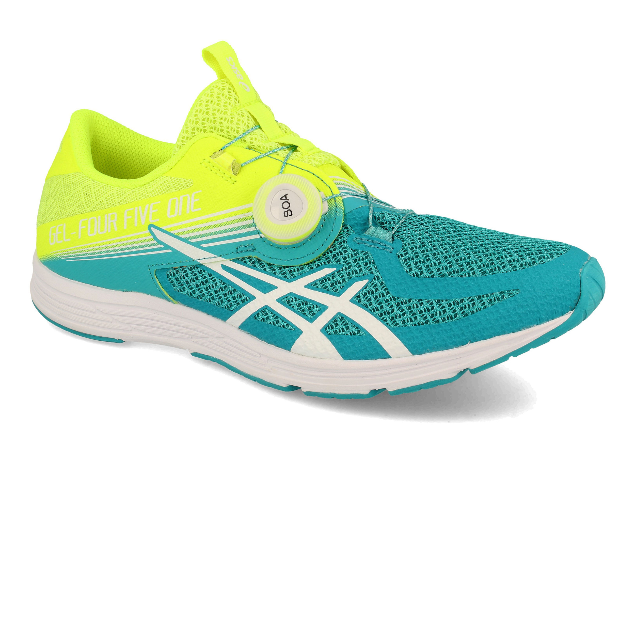 Details about Asics Womens GEL-451 Running Shoes Trainers Sneakers Blue  Yellow Sports