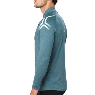 Asics Icon Long Sleeved top de media cremallera