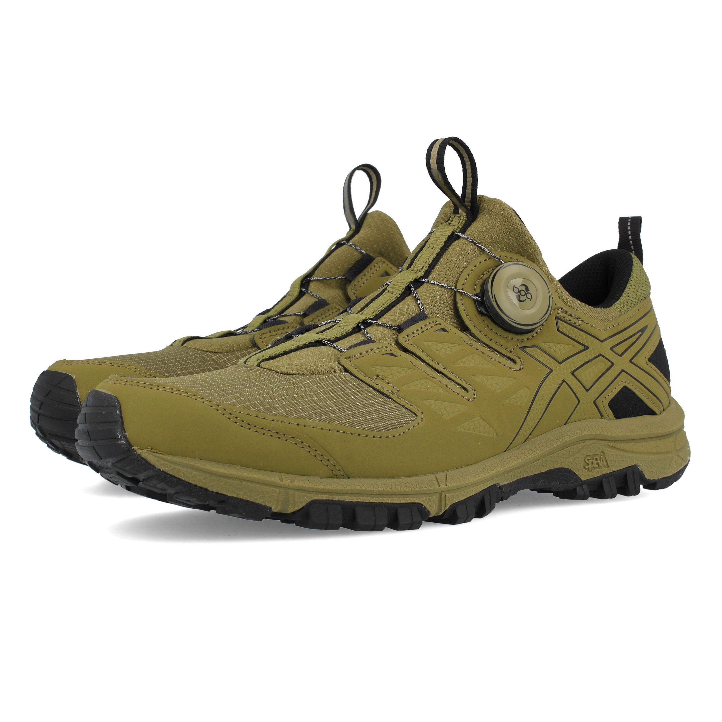 ASICS Uomo Gel-Fujirado Trail Scarpe Da Corsa Ginnastica Sport Sneakers  Verde c4dfd53b474