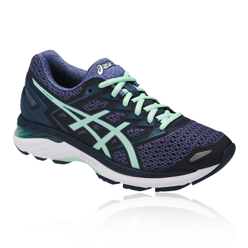 comfortable feel presenting clear-cut texture Details about Asics Womens GT-3000 5 Running Shoes Trainers Sneakers Blue  Sports Breathable