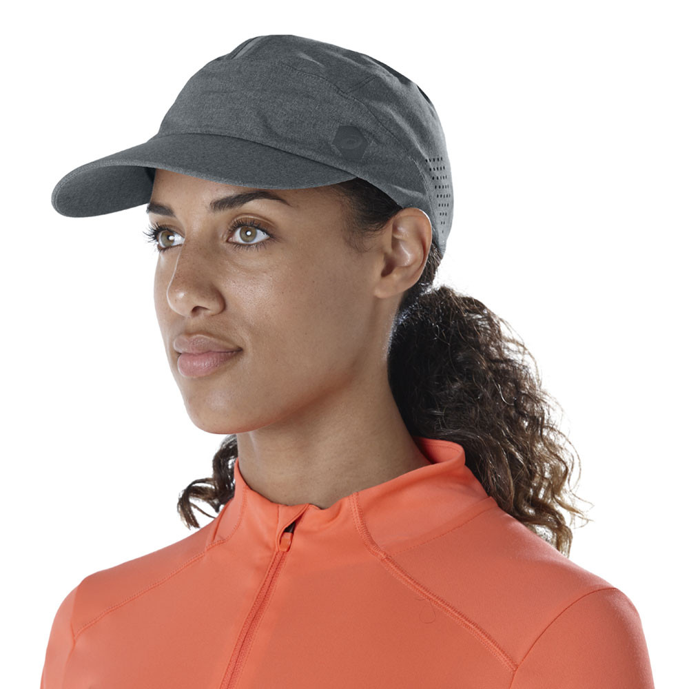 2f3801e896f Asics Unisex Running Cap Grey Sports Breathable Reflective Lightweight