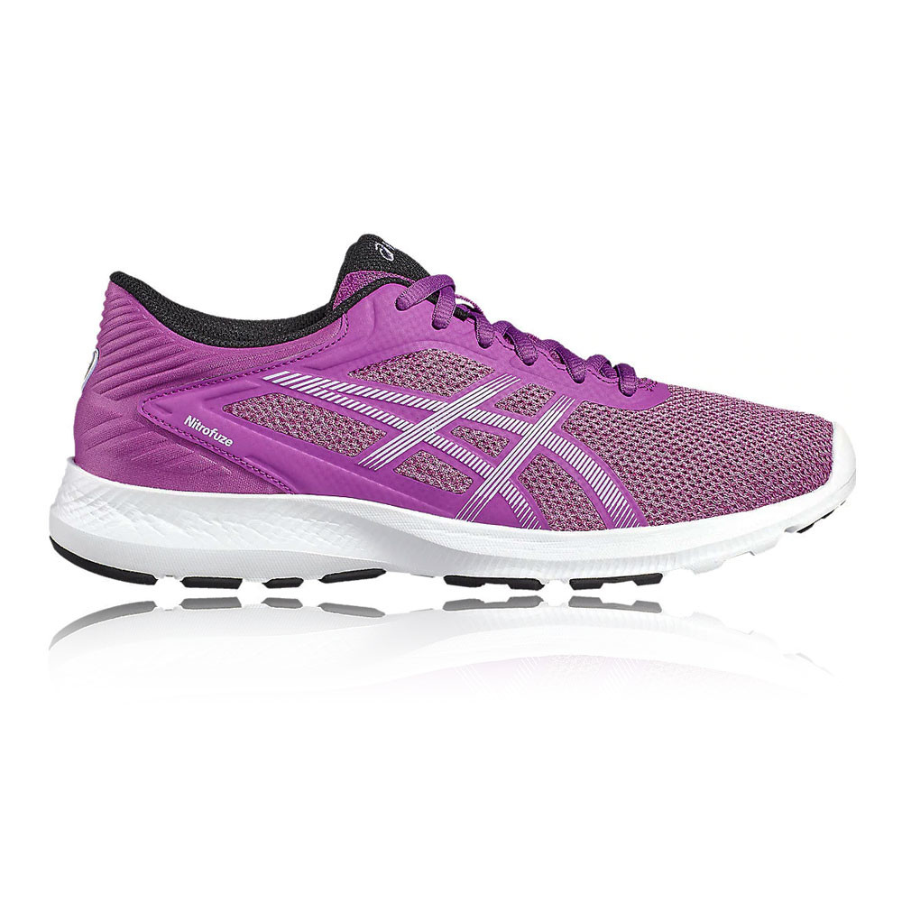 Asics femmes  Nitrofuze Running  Chaussures  Trainers Sneakers  Violet  Sports Breathable
