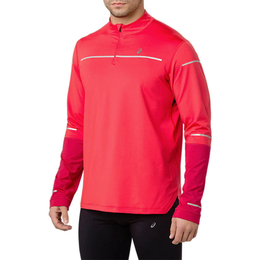 ASICS Lite Show Winter de manga larga media cremallera camiseta de running SS19