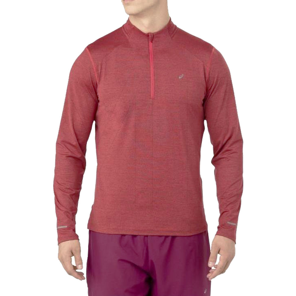 ASICS Icon Long Sleeve 1/2 Zip Running Top
