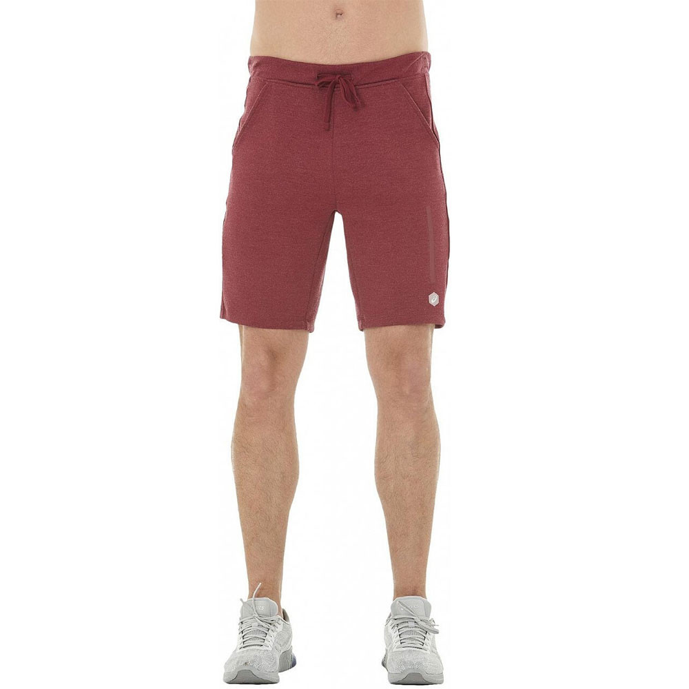 Details about Asics Mens Tailored Shorts Pants Trousers Bottoms Red Sports  Gym Breathable 2ef88c0fd