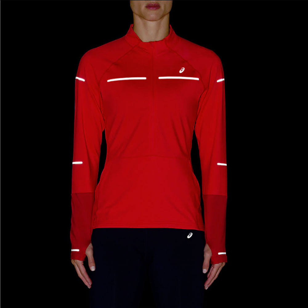 069fd7266f4c ... ASICS Lite-Show Winter Long Sleeve 1/2 Zip Women's Running Top - SS19  ...