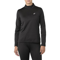 ASICS Silver Long Sleeve 1/2 Zip Women's Winter Running Top