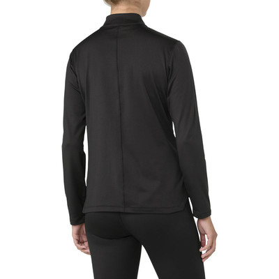 ASICS Silver Long Sleeve Half Zip Women's Winter Running Top