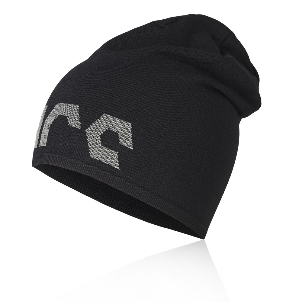 Details about Asics Mens Slouchy Running Beanie Black Sports Breathable  Lightweight 90574e541b0