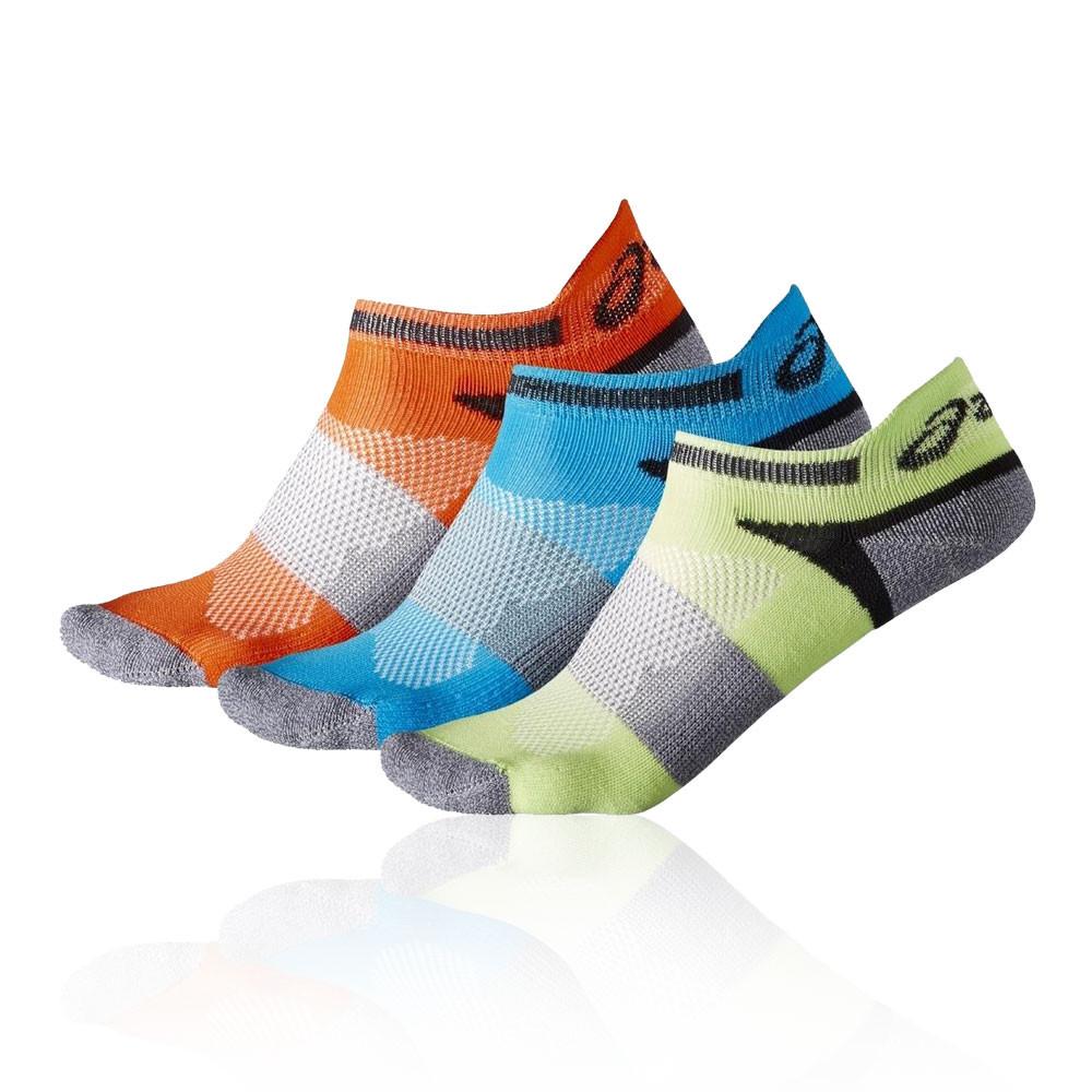 41ee04c973ef0 Asics Enfant Lyte Jogging Chaussettes Bleu Vert Orange Sport Respirant Léger