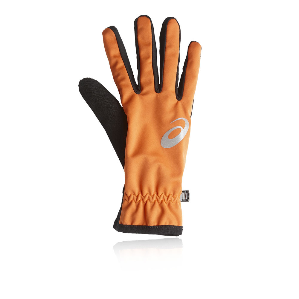 guantes running hombres asics