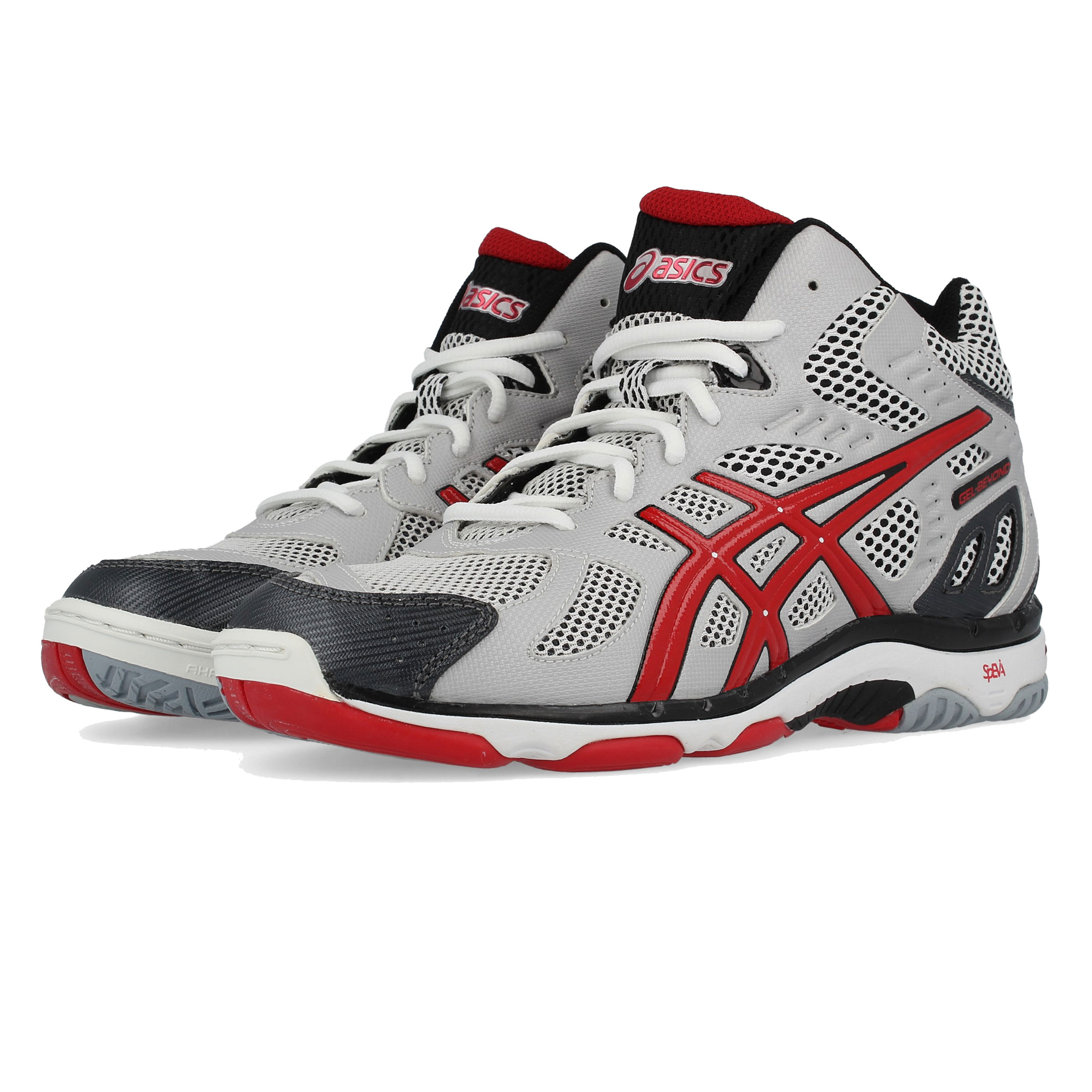 Details about Asics Mens Gel-Beyond 3 MT Indoor Court Shoes Grey Sports  Handball Trainers