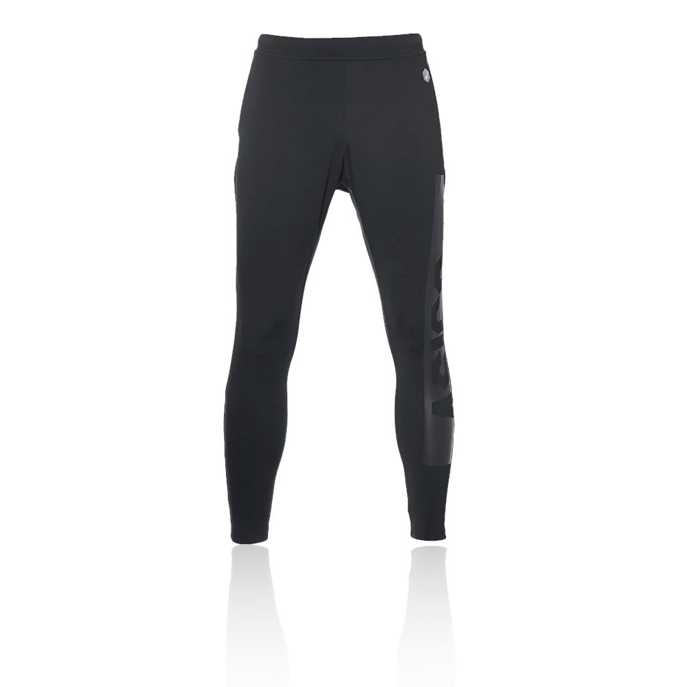 11e421f0f007 Asics Mens Fitted Knit Pants Trousers Bottoms Black Sports Gym Breathable