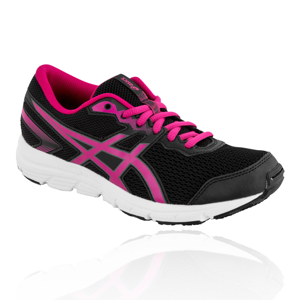 Details about Asics Girls GEL-ZARACA 5 GS Junior Running Shoe Black Pink  Sports Breathable