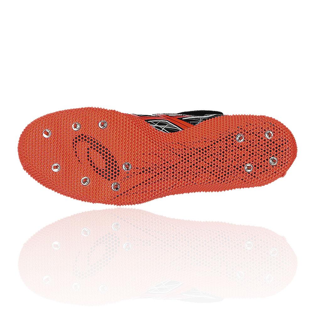 Asics Pro Scarpe Chiodate Nero Alto Sport In Salto Uomo Arancione rxqfCr