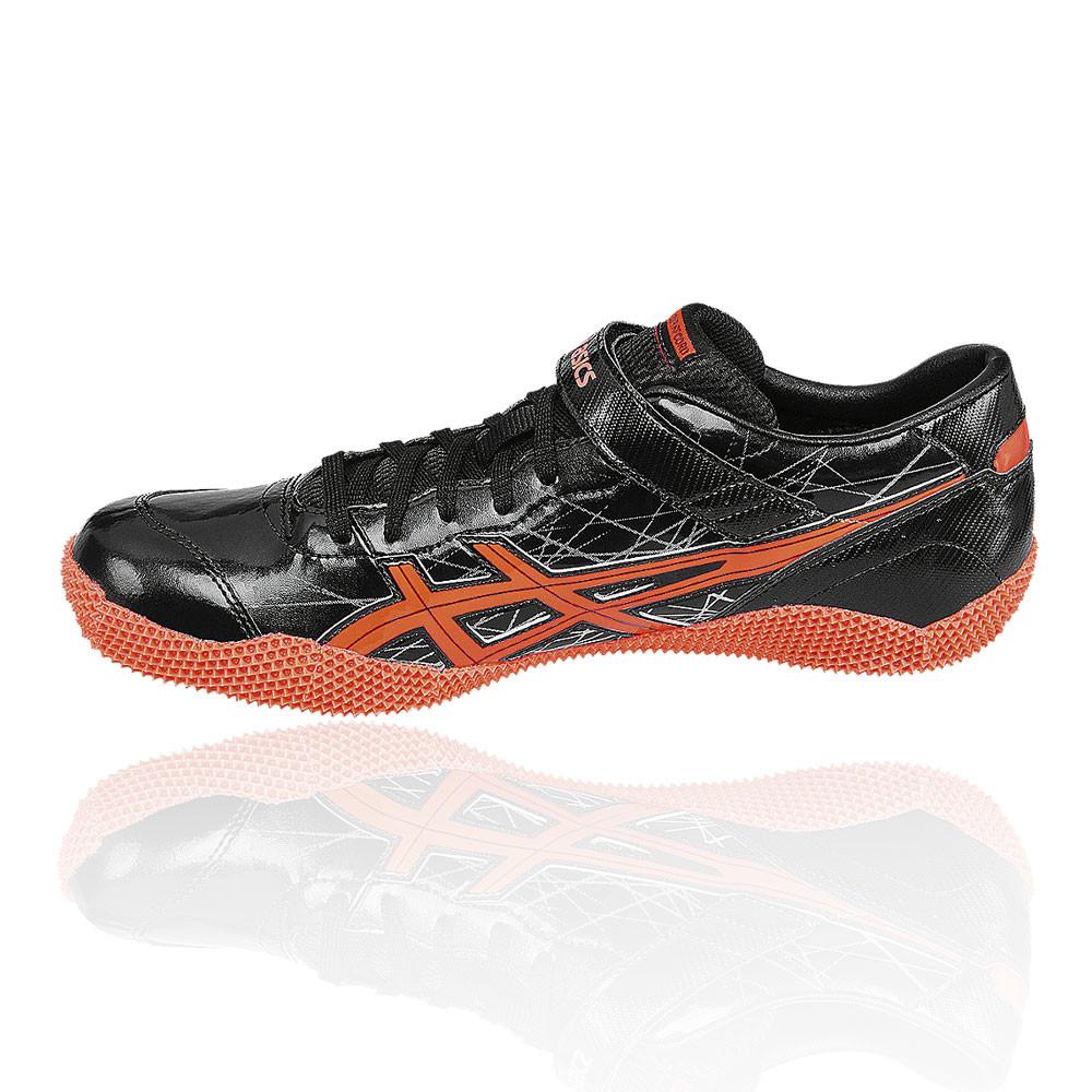 Uomo In Salto Chiodate Nero Pro Scarpe Asics Arancione Sport Alto fdTw6xdn5q