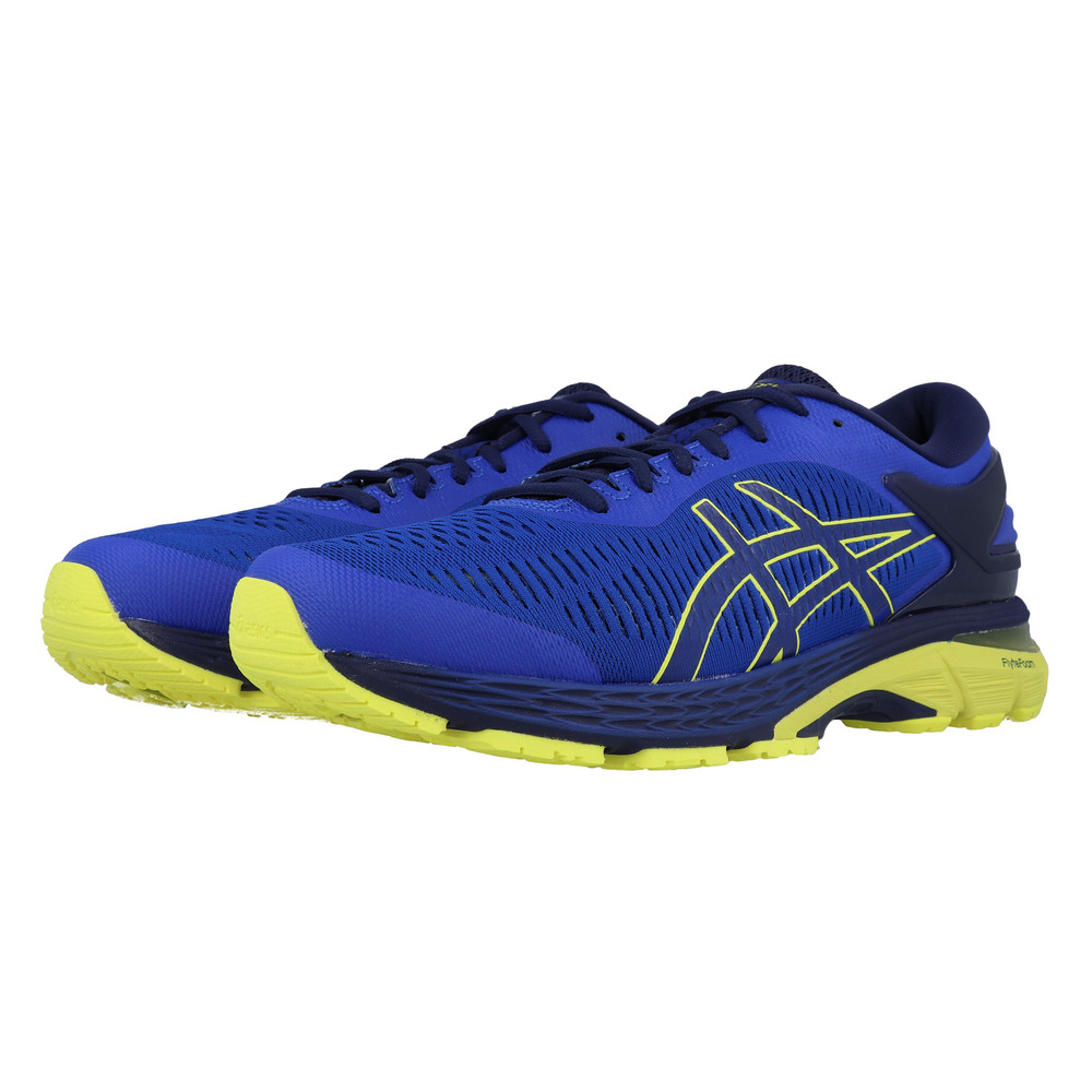 53b8125ef5d Asics Hommes Gel-Kayano 25 Chaussures De Course À Pied Baskets Sport Bleu