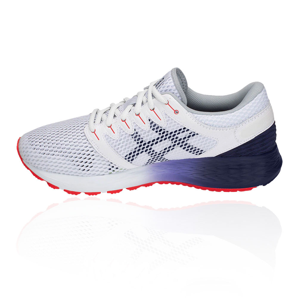 Asics Mens Roadhawk FF 2 Running Shoes Trainers Sneakers White Sports Breathable
