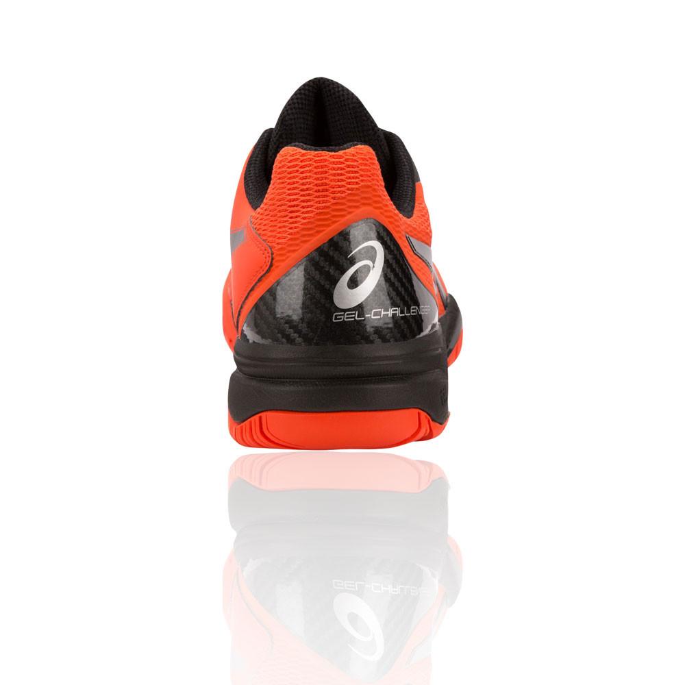 5b92eb8fd44 Asics Hommes Gel-Challenger 12 Tennis Chaussures De Sport Baskets Orange