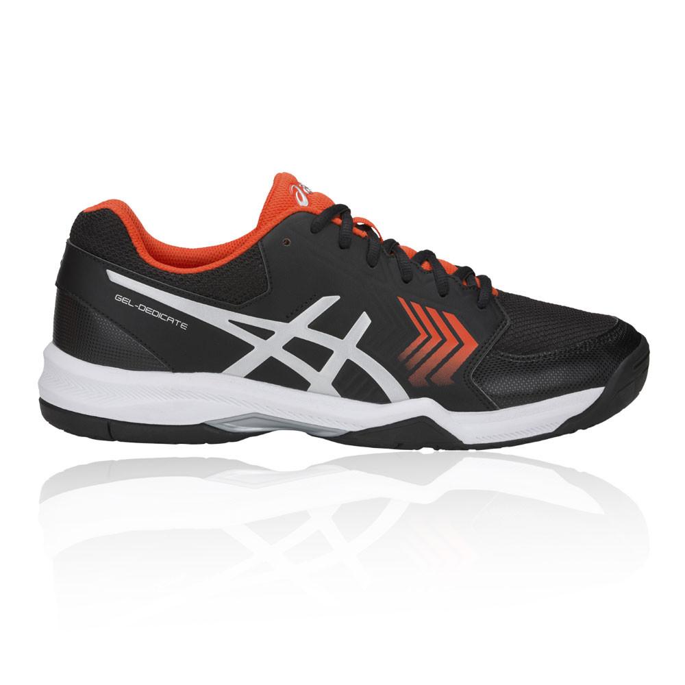 622de3a3c Asics Hombre Gel-dedicate 5 Tenis Zapatos Negro Deporte Transpirable Ligero