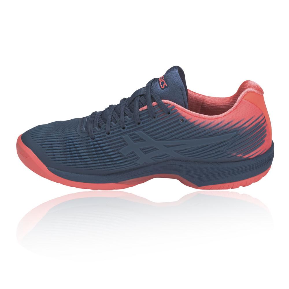 ASICS Donna Solution Speed FF Scarpe Da Tennis Blu Rosa Sport Traspirante 6d8fc62ca2e