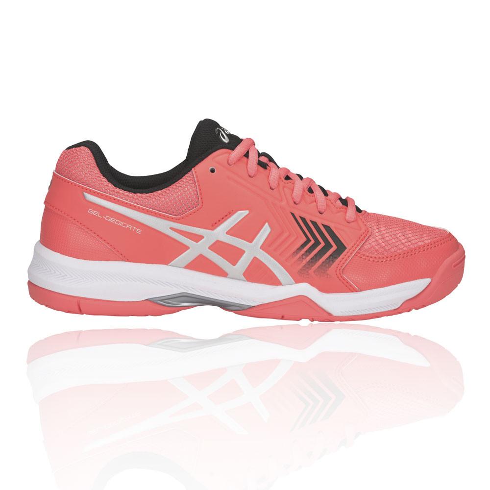 Asics Mens Gel-Dedicate 5 Tennis Shoes Black Sports Breathable Lightweight