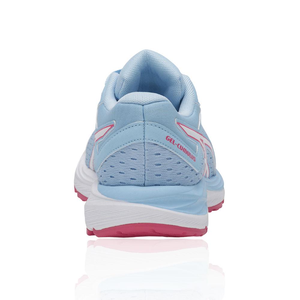 65a489969 Asics Júnior Gel-cumulus 20 Gs Correr Zapatos Zapatillas Azul Rosa Blanco