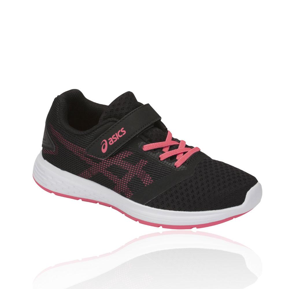 df5ec7cfaa Asics Júnior Patriot 10 Ps Correr Zapatos Zapatillas Negro Rosa Deporte