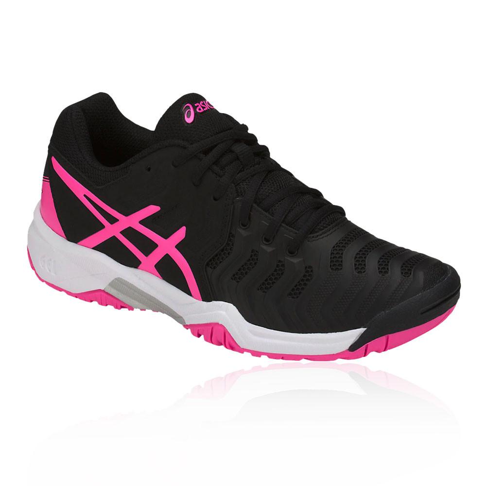 Boys Shoes Gs Resolution Gel Tennis Black Sports Junior 7 Asics qd0F1wqR