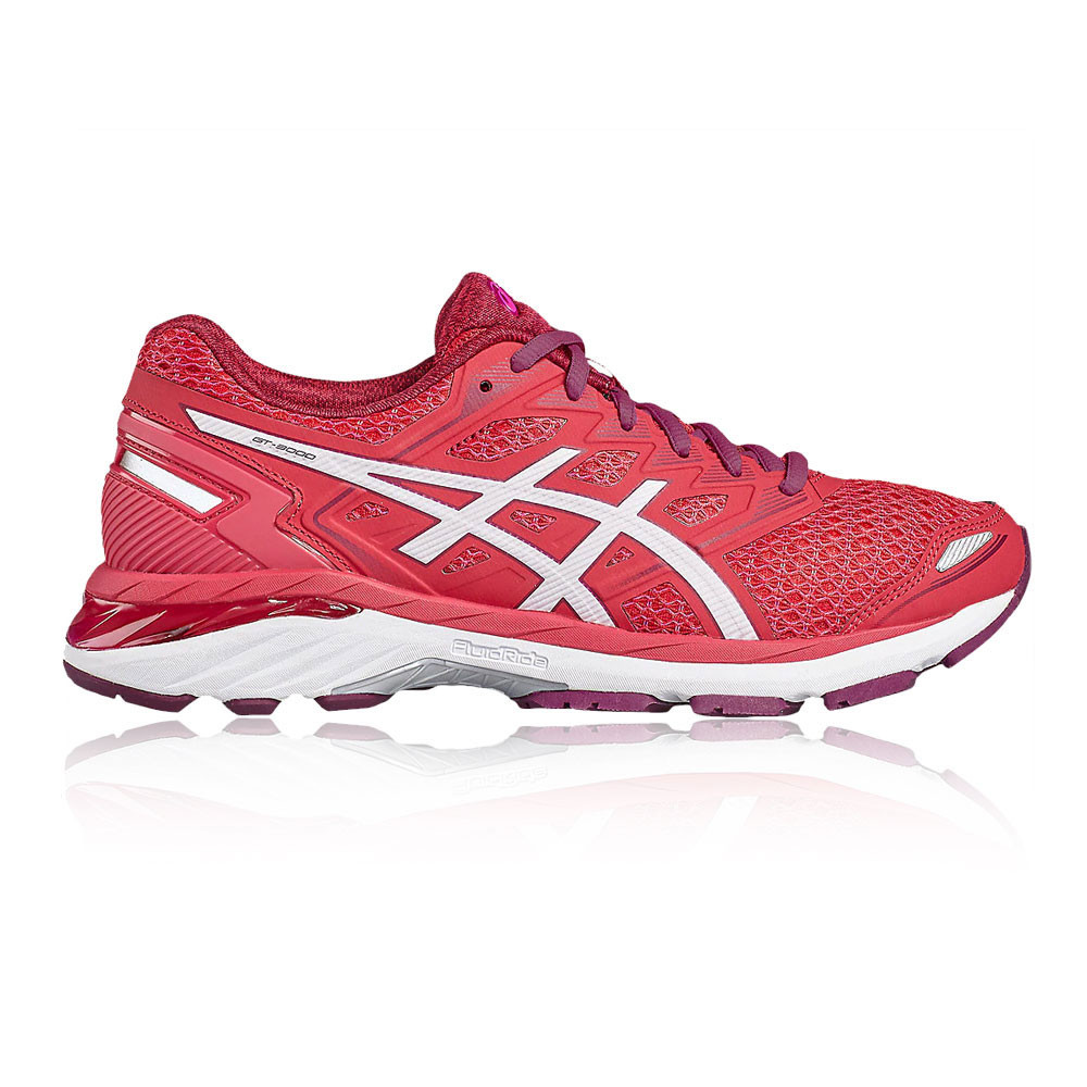 Asics Womens GT-2000 4 Running Shoes Trainers Sneakers Pink Sports Breathable