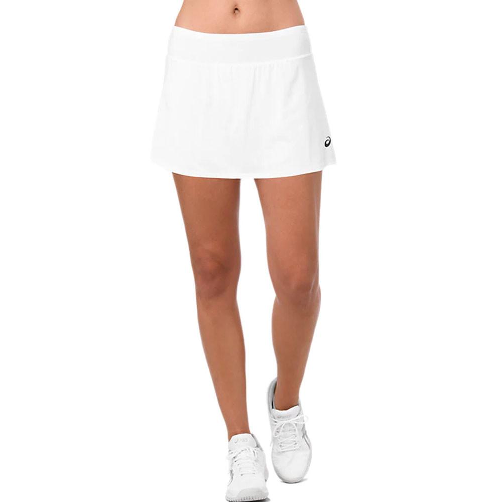 Asics Femmes Skort Jupe De Tennis Short De Sport Blanc Respirant Ultraléger 4ac604cc35d