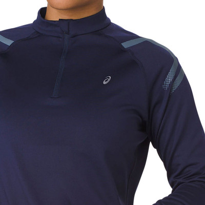 ASICS Icon Winter Half Zip Women's Long Sleeve Top