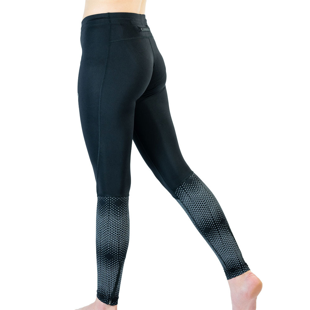 Details zu Asics Damen Race Leggings Jogginghose Fitness Gym Schwarz Sport Laufen Jogging
