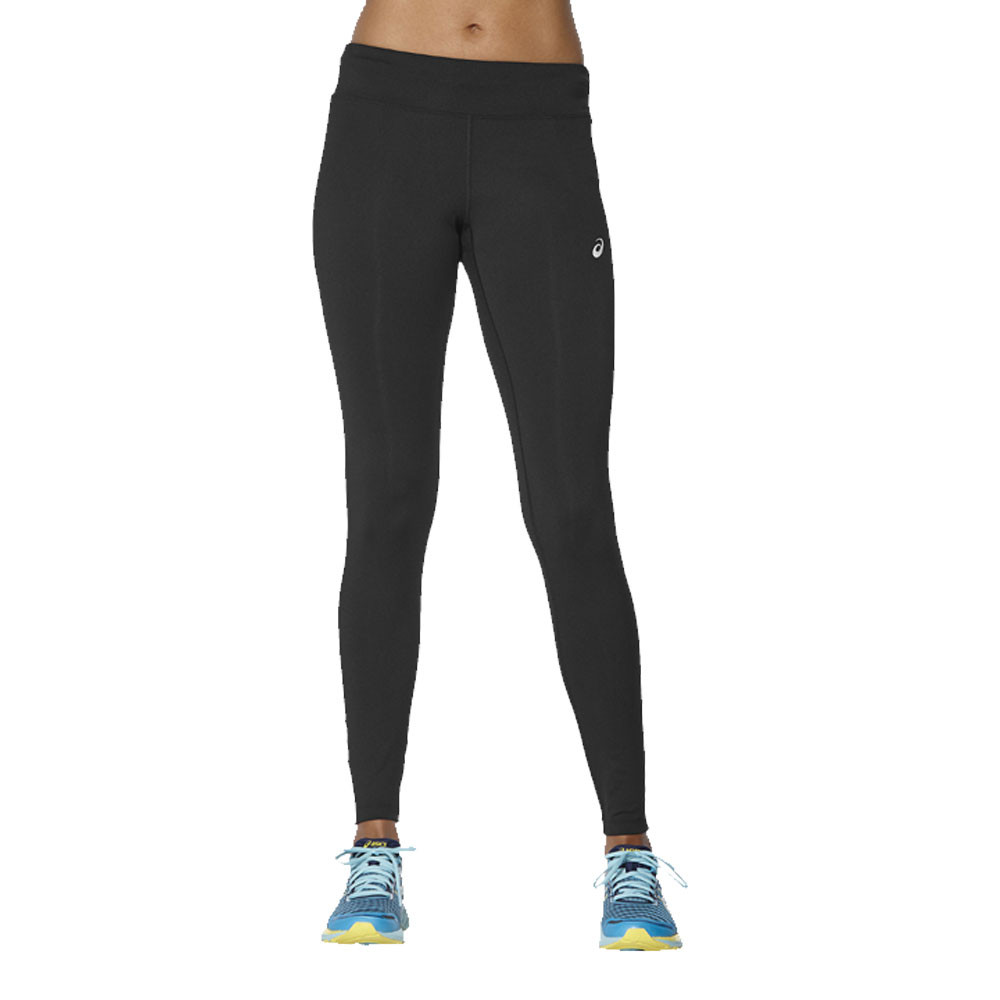 158975149ad628 Details about Asics Womens Sport Run Tights Bottoms Pants Trousers Black  Sports Gym Running