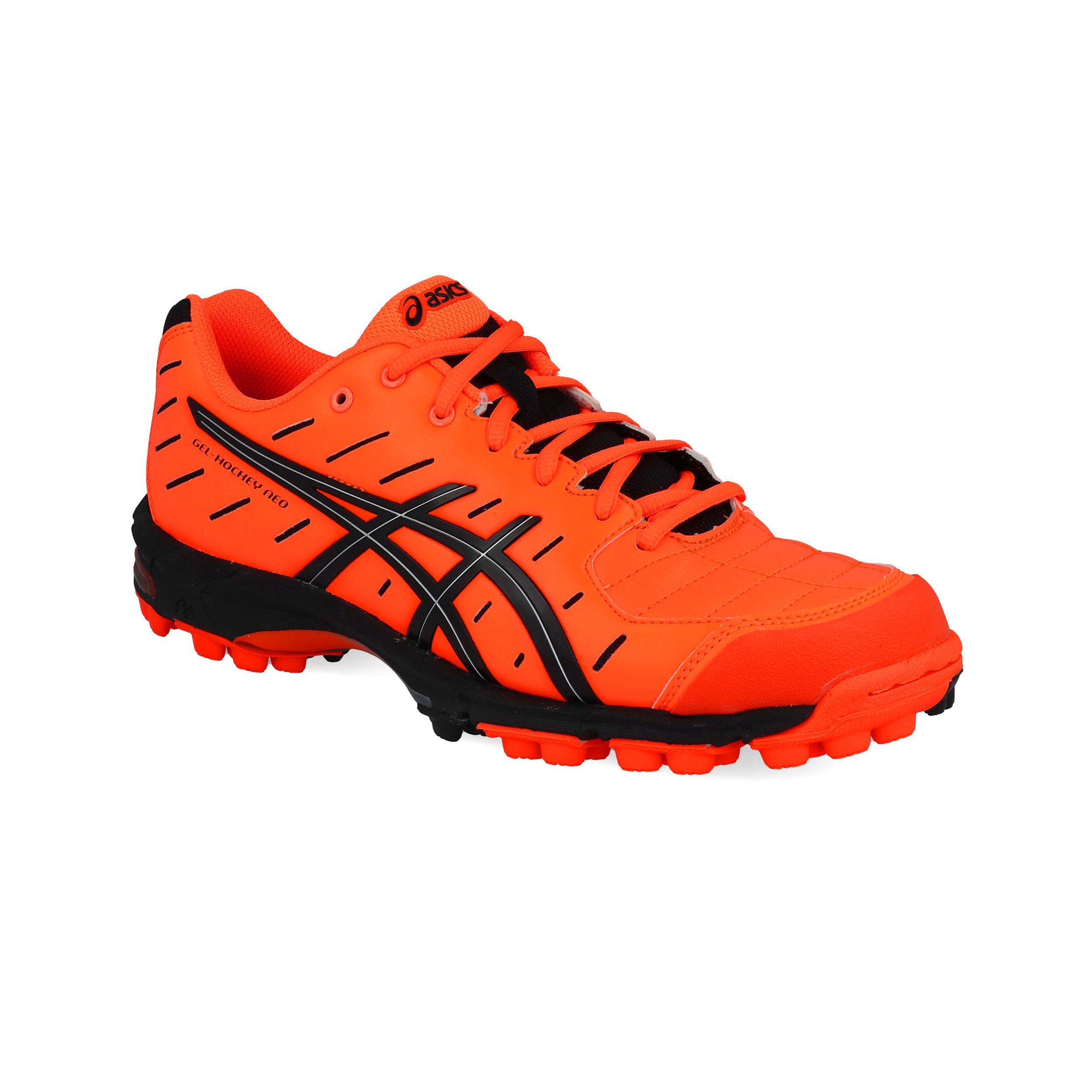Details zu Asics Herren Gel Hockey Neo 3 Hockeyschuhe Hockey Turnschuhe Pitch Field Orange