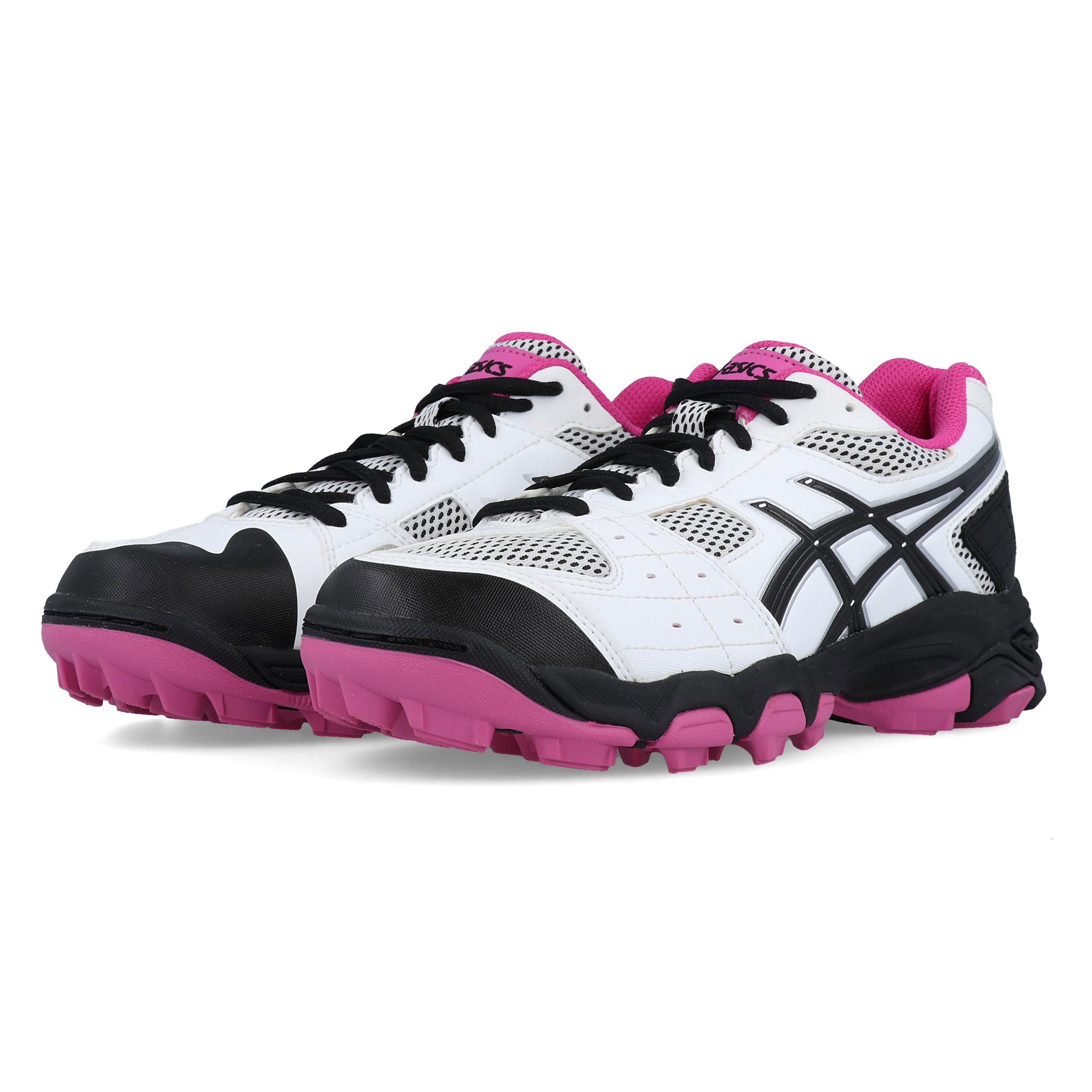 asics junior running shoes size 4 black