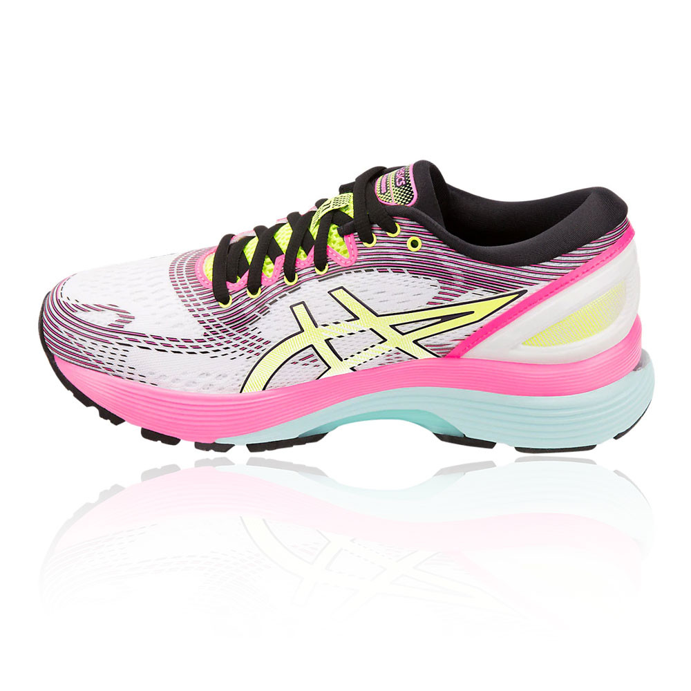 official photos bdf11 a65c9 Asics Womens GEL-Nimbus 21 SP Running Shoes Trainers White Sports Breathable