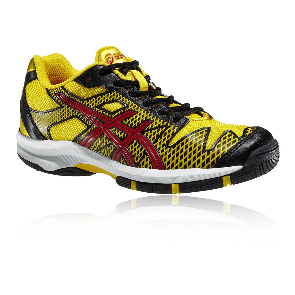 Sur Jaune Asics Sport Gs Speed Détails De Solution Enfant Tennis Chaussures Gel Baskets 4R5jAL