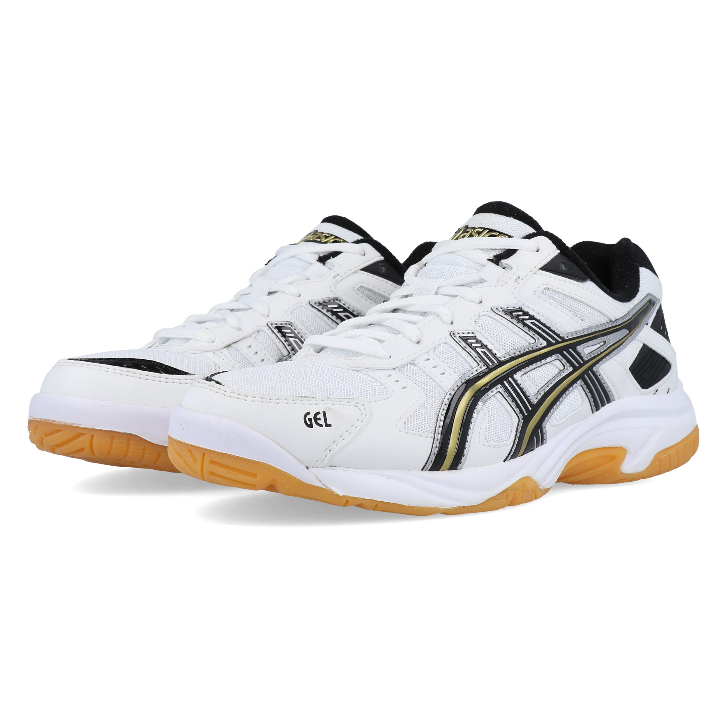 Junior Spike Sports Badminton Indoor Shoes Gel Asics Court White Gs PiXZTlwOku