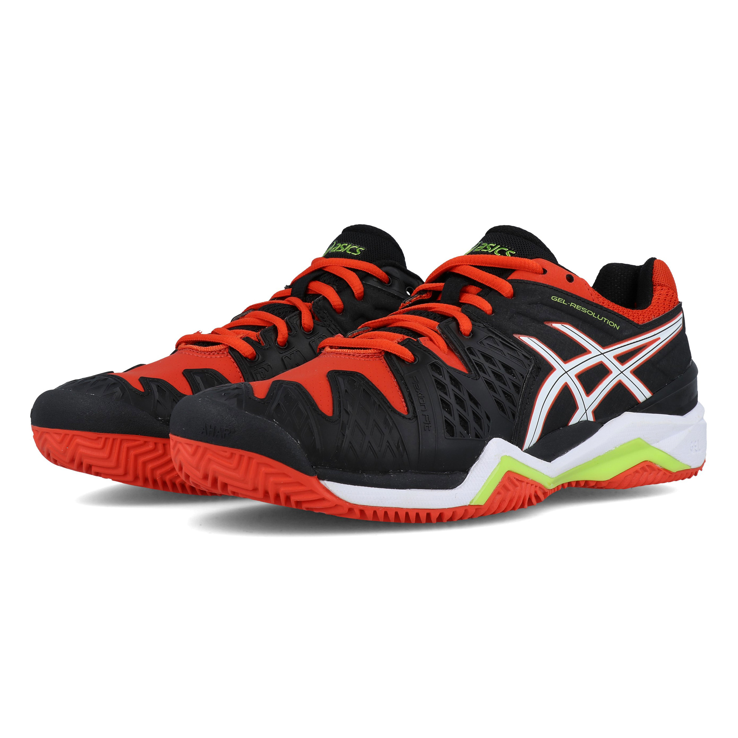 cheaper 6f3f0 5b45e An AHAR+ outsole completes the Gel-Resolution 6. 50% more durable than  standard Asics High Abrasion Rubber, it uses pivot points to accommodate  for ...