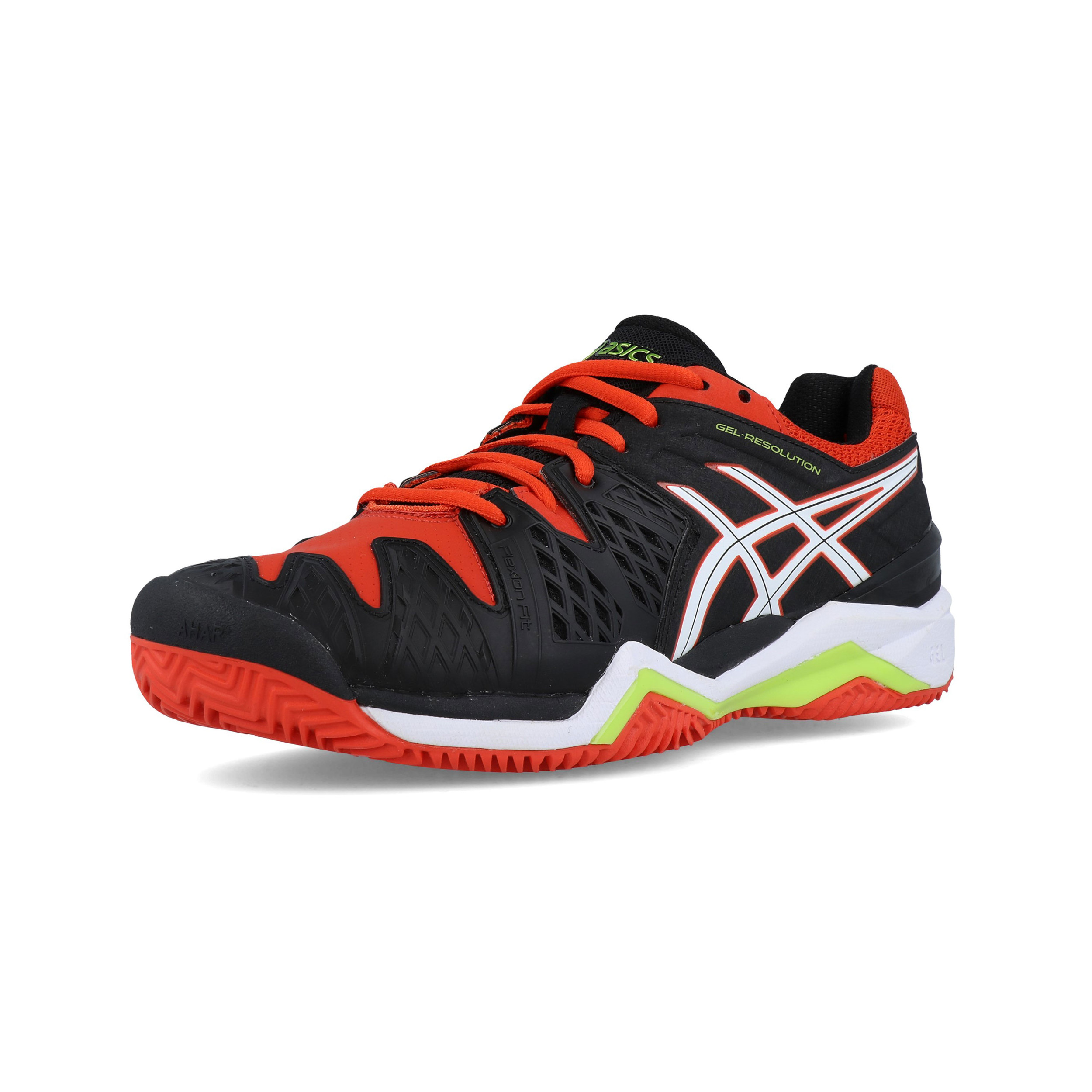 size 40 019f6 3fe39 Asics Hommes Gel-Resolution 6 Clay Court Tennis Chaussures De Sport Baskets